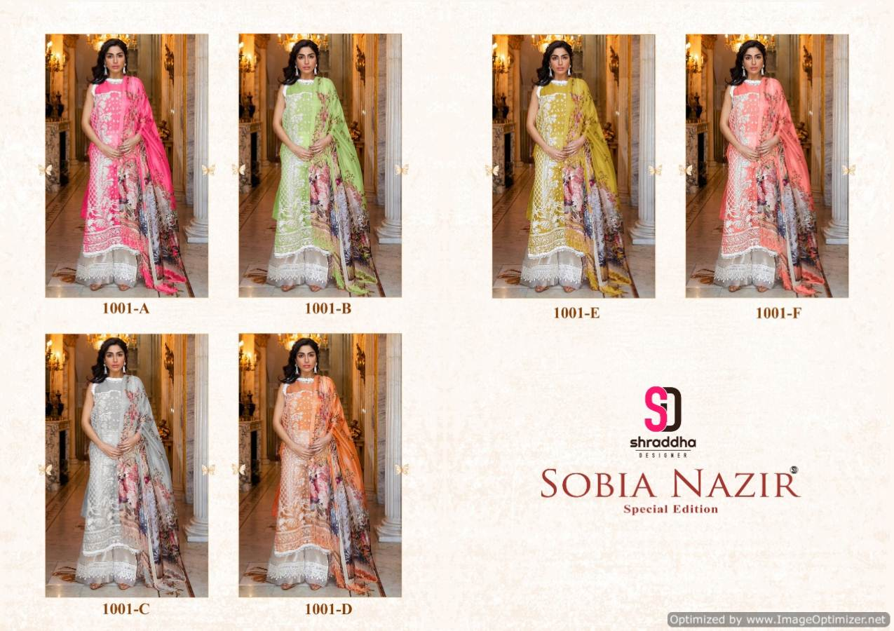 Shraddha Sobia Nazir Eidition 1 collection 3